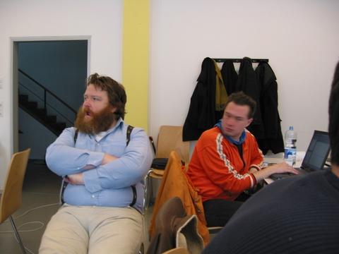 Philipp Auersperg und Gogo Bernhard