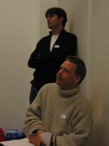 Thomas Wenger and Marcel Lüthi