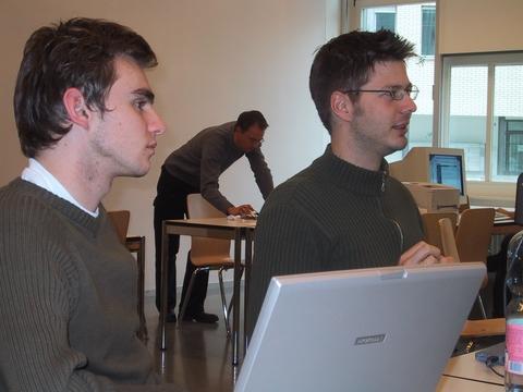 Ewald Natter and Jodok Battlog