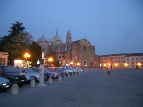 Padova at night