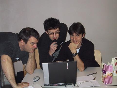 Werner, Pascal and Thomas